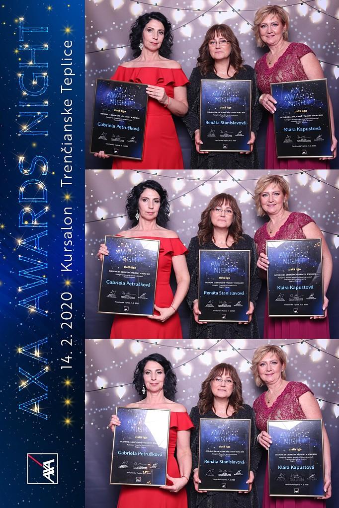 axa awards night