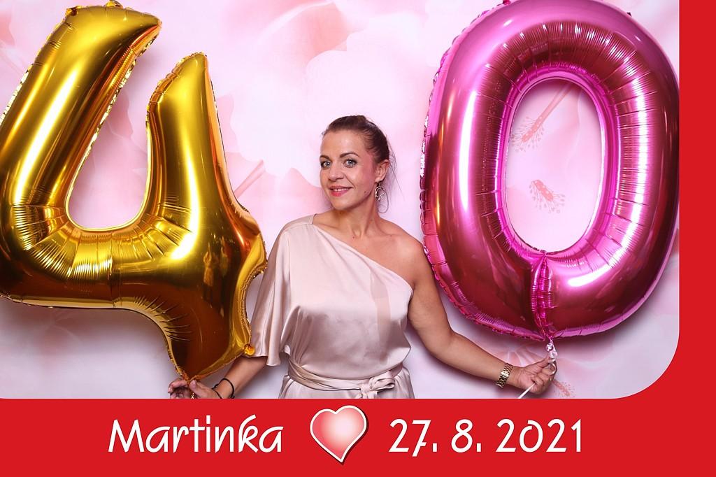 oslava Martinka 40