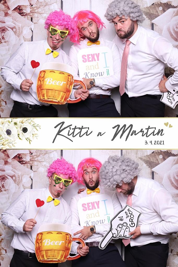 svadba Kitti a Martin