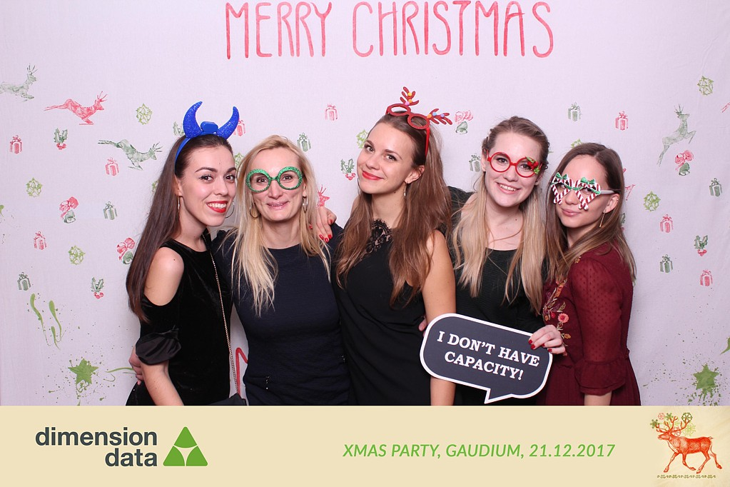 dimension dat xmas party