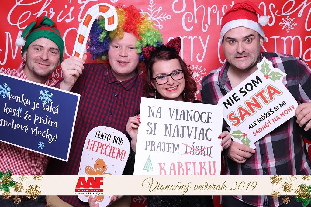 Vianočný večierok - AAF