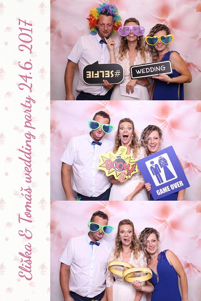 eliška & tomáš wedding party