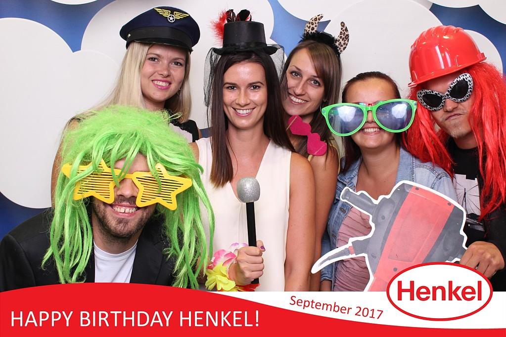 happy birthday henkel - 2.deň