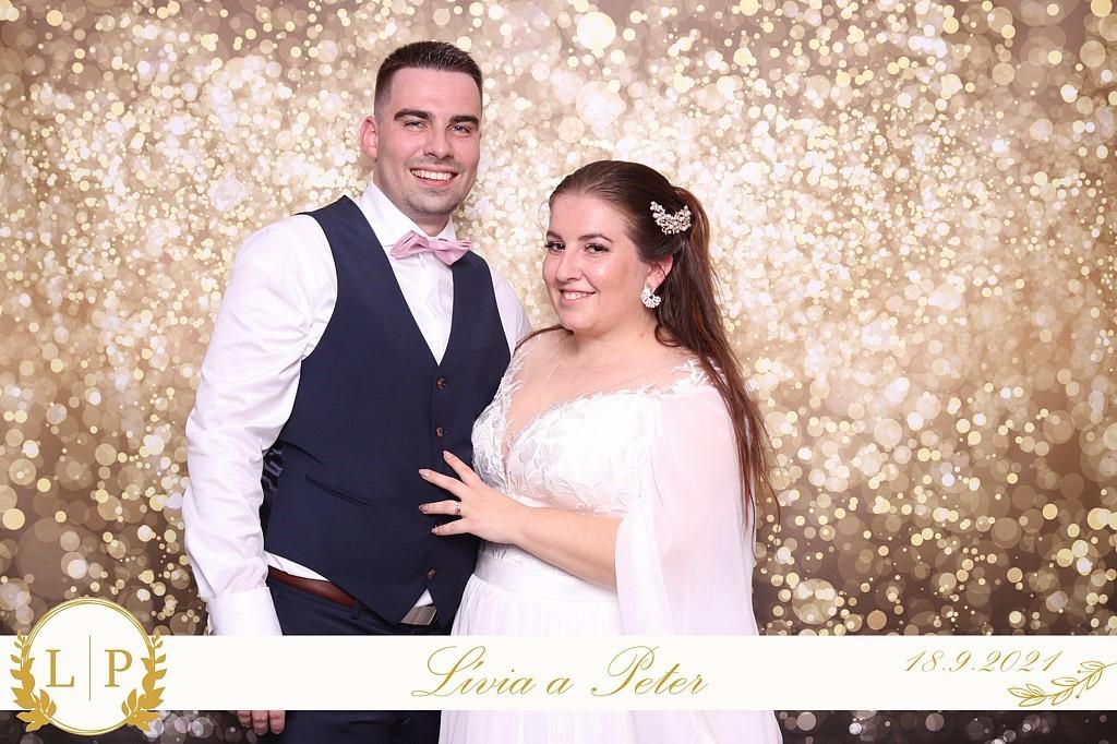 svadba Lívia a Peter