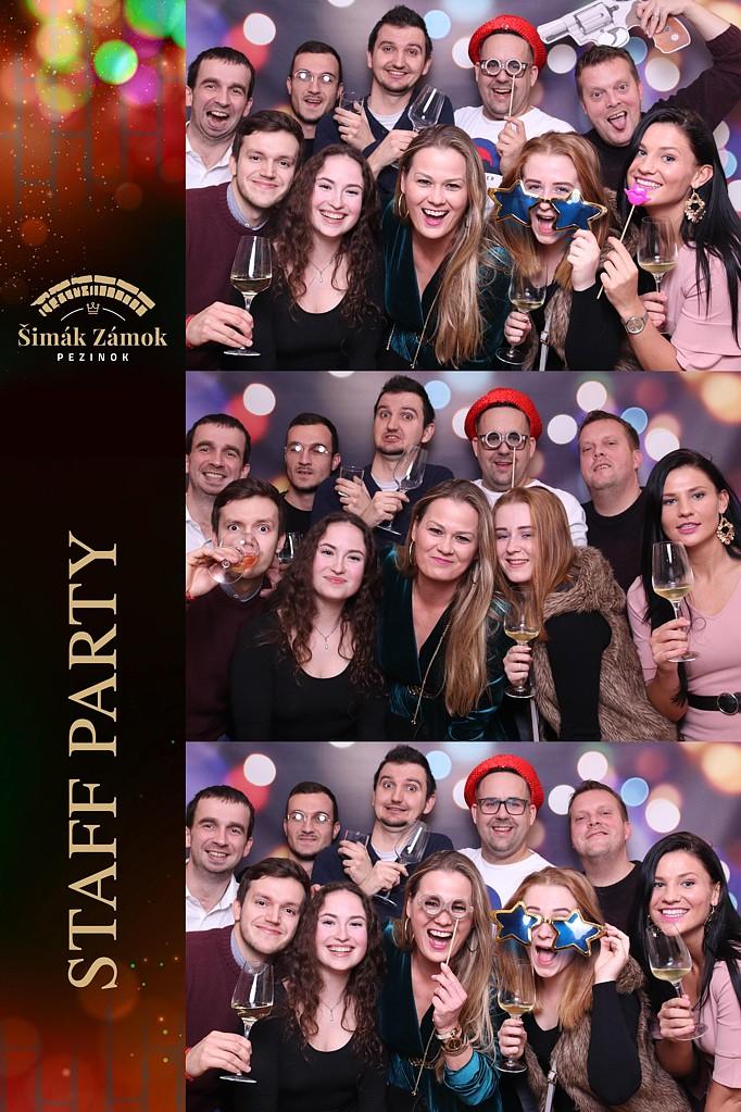 Staff Party - zámok Šimák