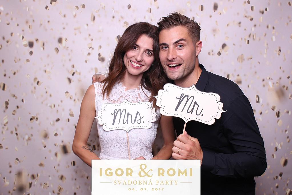 svadobná party igor  & romi