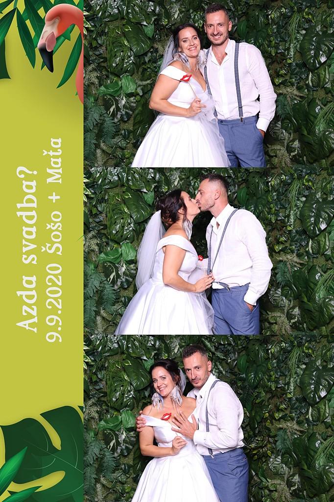 svadba Šošo + Maťa